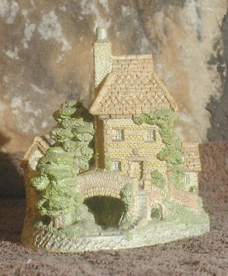 David Winter Cottages Toll Keepers House 1984 John Hine Hand Painted Home UK ID