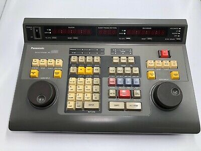 PRE OWNED Panasonic AG-A850P Studio Editing Controller PRE OWNED