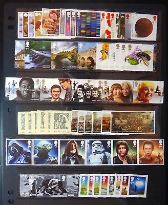 GB 2015 Commemorative Stamps~Year Set~Unmounted Mint~no m/s~UK Seller