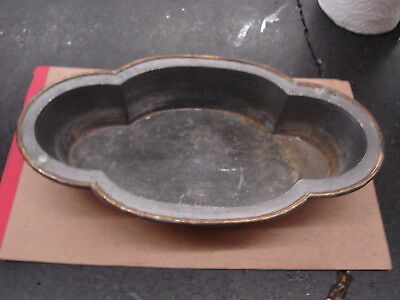 Specially of Gumps, San Francisco, Pewter & Brass Rim,Circa  1880's-1900's,No Re