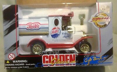 NIB 1996 Pepsi-Cola Collectible Die Cast Metal Bank Special Edition