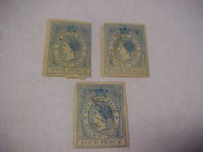 3 New South Wales 4 Pence Stamp Duty Revenues