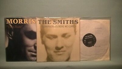 The Smiths and Morrissey -strangeways here we come, meat is murder, viva hate