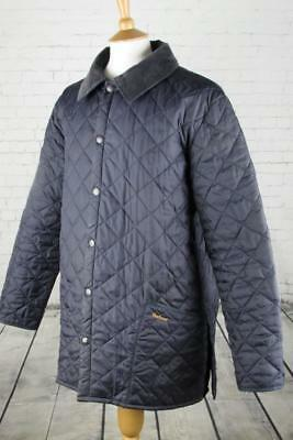 Mens Barbour Liddesdale Quilted Jacket Coat Terrace Casuals Shooting Large
