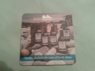 BRAGDY CONWY BREWERY BEER MAT BBCS No. 5