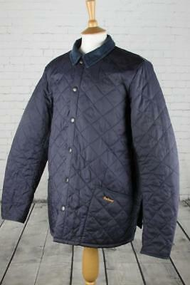 Mens Barbour Heritage Liddesdale Quilted Jacket Coat Terrace Casuals Large