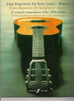 Guitar Music, First Repertoire for Solo Guitar, 37 original pieces