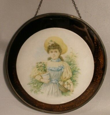 Flue Cover with Girl in a Small Size