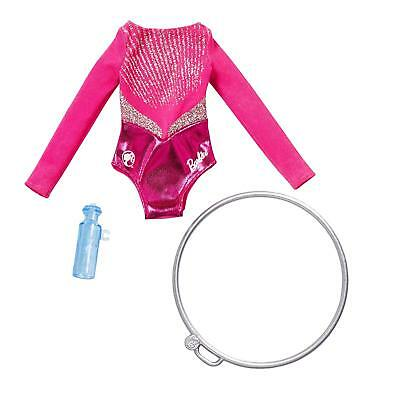 BARBIE DOLL GYMNAST FASHION and ACCESSORY PACK GABBY LAURIE 2018 FXH99