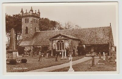 Dirleton Kirk in 1920-40 (Est) Millar & Lang Real Photo PPC, Unused