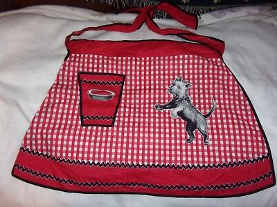 Vintage Apron~Scottie Dog~