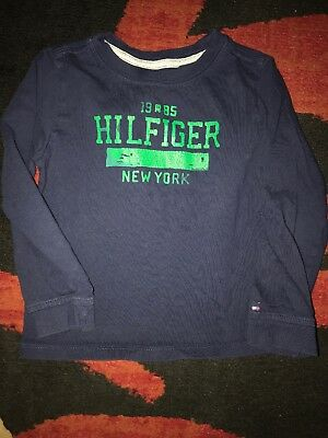 Tommy Hilfiger baby boys long sleeve t-shirt. size 4T