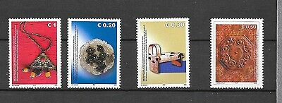 KOSOVO Sc 31-34 NH issue of 2005 - HANDCRAFTS