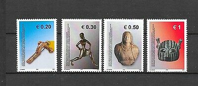 KOSOVO Sc 38-41 NH issue of 2005 - ARCHAEOLOGY