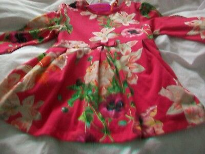Ted Baker  Marks & Spence R Fluffy Jumper And Tigerlily Bundle Age 5 - 6