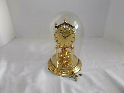 Vintage Kundo Anniversary Dome Clock With Key West Germany