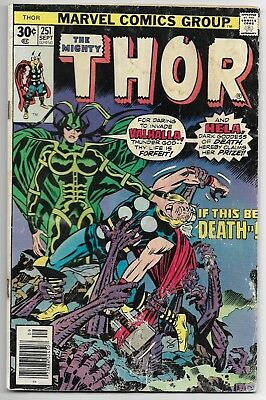 1976 Marvel Comics Group The Mighty Thor No.251
