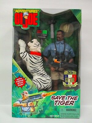 "1998 Hasbro 12"" Modern The Adventures Of G.i Joe 1/6 Scale Save The Tiger New"