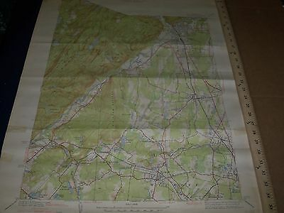 1950'S U.s. Dept. Of Interior & Army Engineers New Jersey Map Lot Of 7 - O 3I