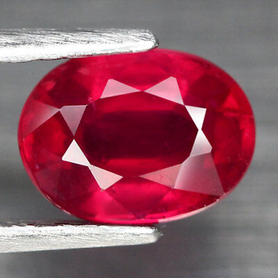 2.16Ct. Captivating! Oval Facet Top Blood Red Natural Ruby Madagascar