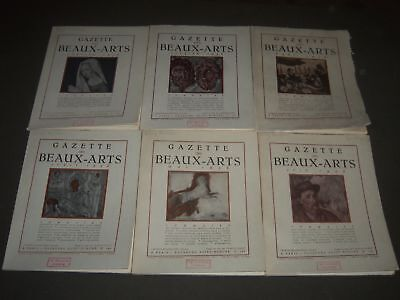 1936 Gazette Des Beaux-Arts French Magazine Lot Of 11 - Complete Year - O 3031