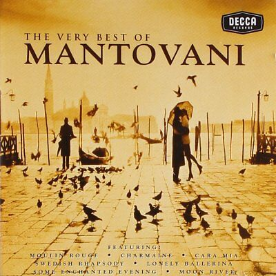 Very Best Of Mantovani 2 Cd Classical Music New Set
