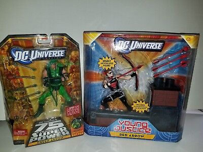Dc Universe Classics Young Justice Red Arrow & Green Arrow Dc Comics 75 Years