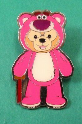 Disney Pin HKDL - Duffy Bear Costume Collection - Duffy as Lotso from Toy Story