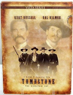 Tombstone DVD 2disc Kurt RUSSEL Val KILMER Powers BOOTHE Sam ELLIOTT Bill PAXTON