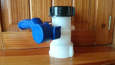 IBC Tank S60X6 Replacement Valve Tap Water Oil Container  IBC Mauser