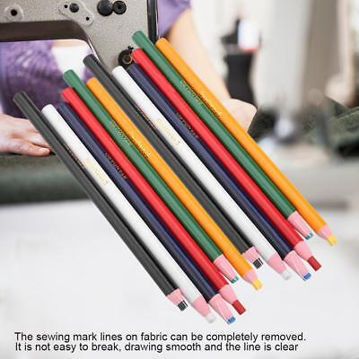 12Pcs/pack Tailors Chalk Pencils Pen - Colour Choice Sewing Dressmakers Fabric