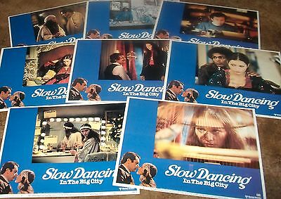 SLOW DANCING IN THE BIG CITY Paul Sorvino 1978  SET 8 ORIGINAL LOBBY CARDS