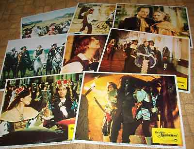 The 5th Muskateer 8 LOBBY CARDS SET 1979 Ursula Andress