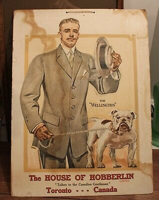 The House of Hobberlin   Store Display Cardboard 53x38cm  'The Wellington'