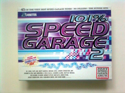 101% SPEED GARAGE 2  various artists   [1998] cassette
