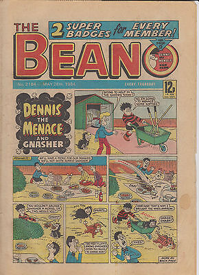 THE BEANO UK COMIC May 26 1984 No. 2184 Original  Birthday Gift