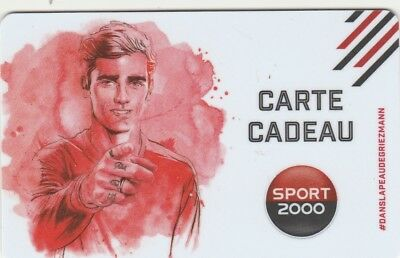 Carte Cadeau  Gift Card - Sport 2000 ( France )