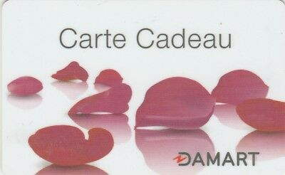 Carte Cadeau  Gift Card - Damart (France)