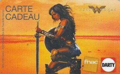Carte Cadeau  Gift Card -  Darty Fnac    Wonder  Woman  (France)