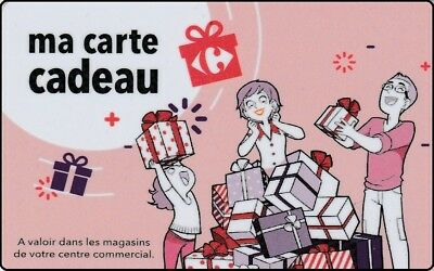 CARTE CADEAU  GIFT CARD -   galerie commercial  ( FRANCE )