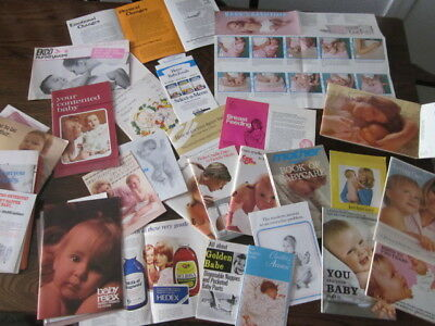 """1970's MOTHERCARE & BABY CARE BOOKS PREGNANCY & AFTER CARE """" HEINZ COW & GATE """""""