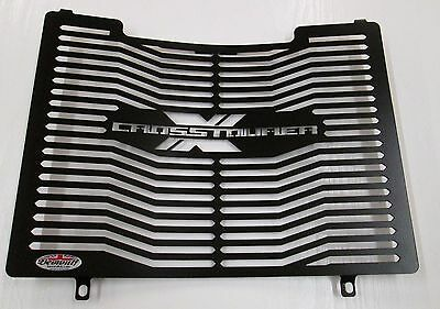 Honda VFR1200 X DCT Cross Tourer (12-19) Black Radiator Guard Protector Grill