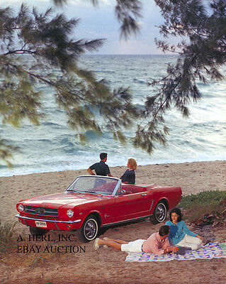 Ford Mustang 1964 new auto car model introduction press campaign 1964 photo 7