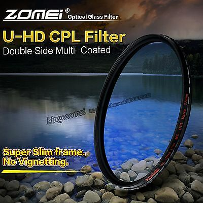 ZOMEI HD Glass CPL Circular Polarizing Polarized Polarizer Filter for DSLR 82mm