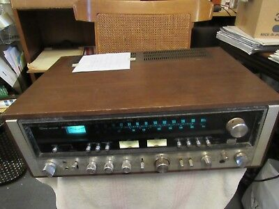 Sansui 9090 Stereo Receiver. Powers/lights Up. Non Working. Parts/repair. Japan