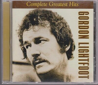 GORDON LIGHTFOOT Complete Greatest Hits 2002 Rhino CD If You Could Read my Mind