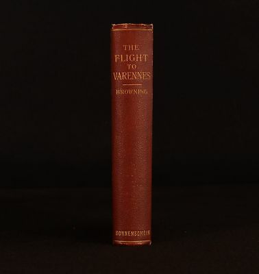 1892 The Flight to Varenne and Other Historical Essays Oscar Browning