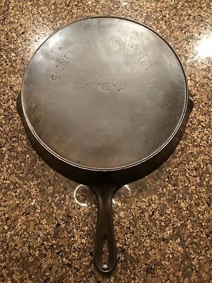 HTF!!! Sidney Hollowware #9 Skillet, Super Nice, Made By Wagner Ware