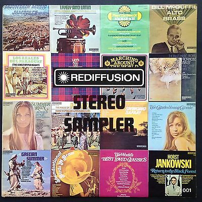 Promo REDIFFUSION STEREO SAMPLER LP Easy Listening 1972 Pete Moore Ronald Binge
