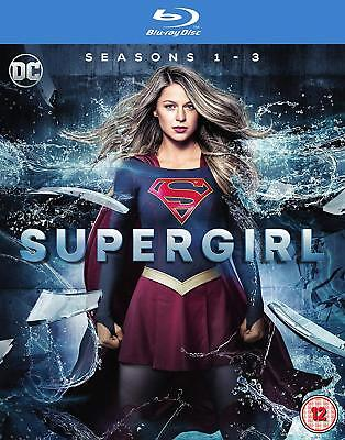 Supergirl – Seasons 1-3 Blu-ray Sci-fi Action Adventure